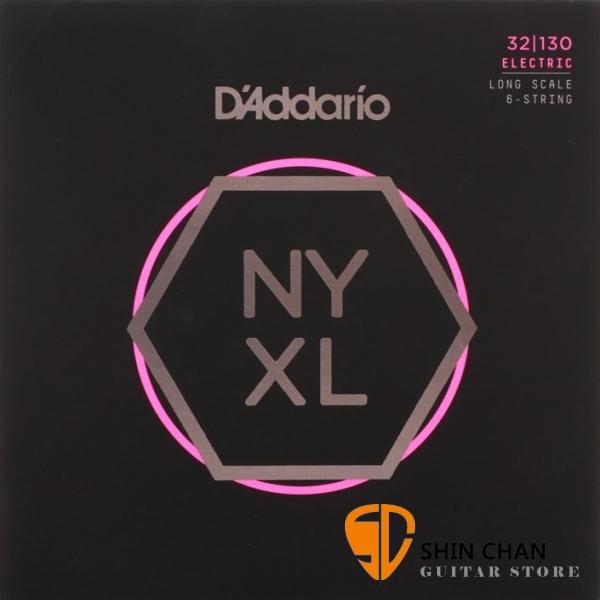 美國 DAddario NYXL32130 6弦電貝斯弦 (32-130)【NYXL-32130/Bass弦專賣店】