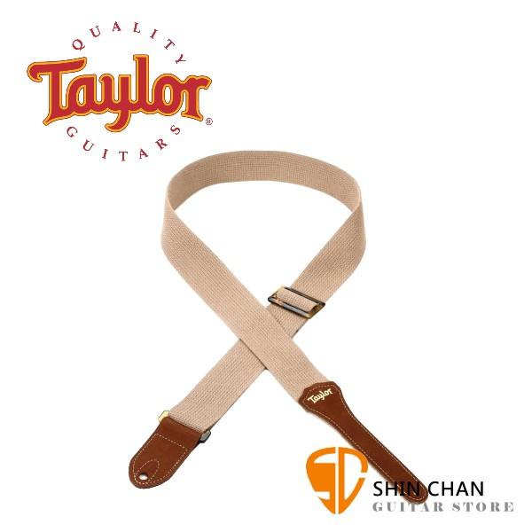 Taylor 4000-20 GS Mini Tan Cotton 背帶 適用民謠吉他/電吉他/電貝斯【型號 : 4000-20】