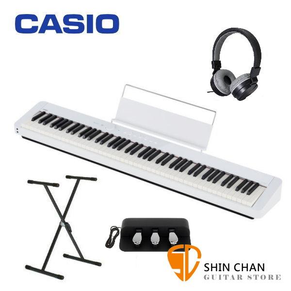 Casio PX-S1000 電鋼琴 88鍵 白色 卡西歐 PXS1000 贈 台灣製 X琴架 / 三音踏板 / 耳罩式耳機