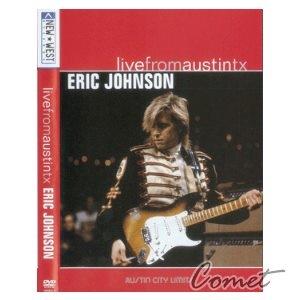 電吉他影音教學DVD ERIC JOHNSON-Live From Austin tx
