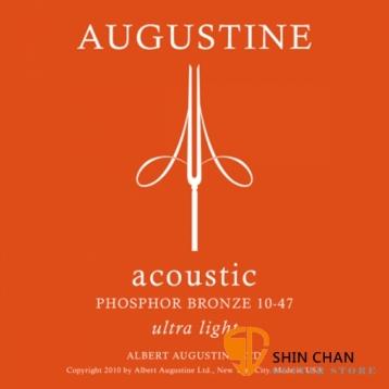 AUGUSTINE 磷青銅民謠吉他弦 10-47 ultra light 木吉他弦