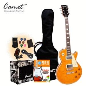 Comet 玩家級LesPaul M200 電吉他全配備套餐【Comet專賣店/M-200/吉他套餐】