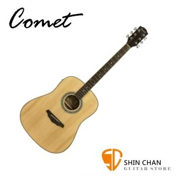 Comet CL-230E 可插電雲杉木單板 民謠吉他【進階首選/CL230E/木吉他/完美音色】
