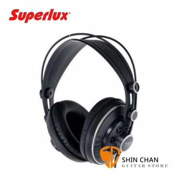 Superlux HD681B 半開放式專業監聽耳機 動圈式  HD-681B 頭戴式/耳罩式 附Superlux原廠袋、轉接頭