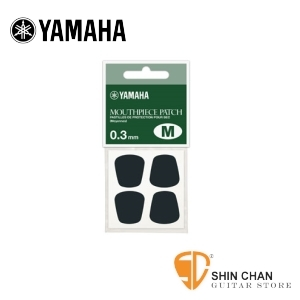 管樂保養 ▷ YAMAHA 豎笛 薩克斯風 吹嘴護片 MPPAM3 【 0.3mm 黑色款】