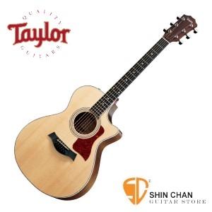 taylor吉他 ► Taylor 412ce 全單板 可插電民謠吉他 美廠 附原廠硬盒【412-ce/木吉他/GC桶身】