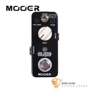 吉他效果器►Mooer Blade 重金屬破音效果器【Metal Distortion Pedal】【Micro系列BL】
