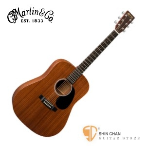 Martin 吉他►Martin DRS1 全單板 桃花心木 可插電 民謠吉他 附硬盒【墨西哥製/電木吉他】