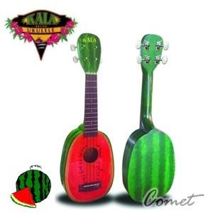 美國Kala 西瓜造型烏克麗麗(KA-WTML Watermelon Soprano)21吋Ukulele 附琴袋【Ukulele專賣店/Kala專賣店】