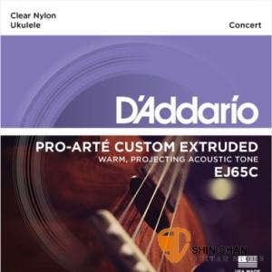 D'Addario EJ65C 23吋烏克麗麗弦 Concert【EJ-65C/UKULELE/DAddario】