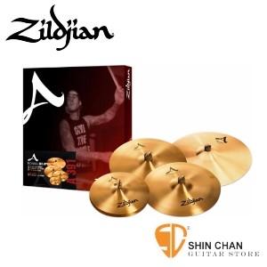 """銅鈸▻ Zildjian A391 5片銅鈸套組 內贈18吋A Medium Thin Crash 一片【Cymbal Pack with Free 18"""" A Medium Thin Crash/A-391】"""