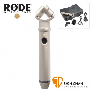 RODE NT4 電容式 立體聲 麥克風 / 收音麥克風 XY錄音 RDNT4 台灣公司貨保固