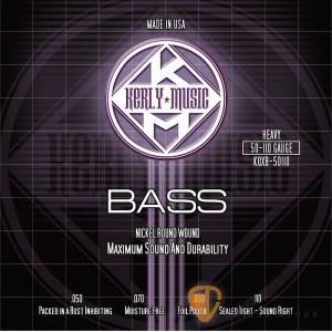 Bass弦►Kerly 冰火弦 KQXB-50110 美製電貝斯弦  (50-110)