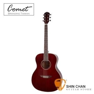 Comet 慧星 C417S 單板雲杉民謠吉他 JM共嗚之王 鮑魚貝殼鑲嵌木吉他(C-417S)