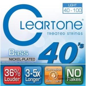 Cleartone (40-100)電貝斯弦【CleaR Tone吉他弦專賣店/bass弦/6440】
