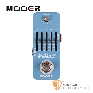 吉他效果器 ► Mooer Graphic G 吉他專用5段等化器EQ【Guitar Equalizer Pedal】【GG】