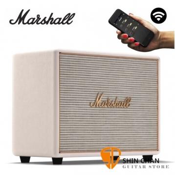 Marshall Woburn Wifi 音響 Multi-Room 無線喇叭 Wi-Fi / 藍芽喇叭 經典音箱 造型 / 台灣公司貨 奶油白 WOBURN WIFI