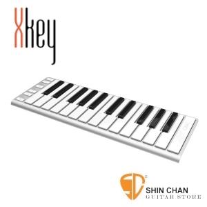 midi鍵盤►CME XKey 鋁合金(銀色)MIDI鍵盤-25鍵 行動鍵盤控制器(支援iOS /Android / PC / Mac)