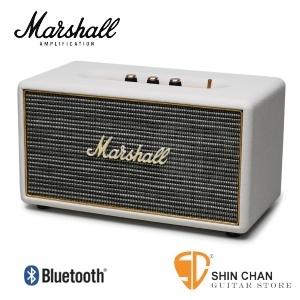 marshall 藍芽喇叭▻ Marshall Stanmore 喇叭/復古經典音箱(白色 奶油白/公司貨)藍牙喇叭