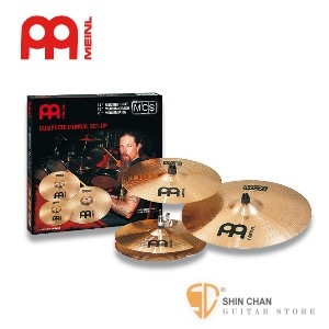 MEINL MCS 4片套裝銅鈸【COMPLETE CYMBAL SET-UP】