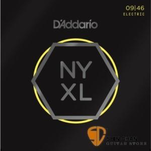 D'Addario NYXL0946 (09-46) 電吉他弦 【NYXL-0946/吉他弦專賣店/DAddario】
