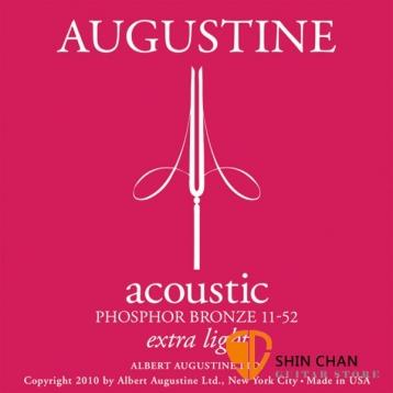 AUGUSTINE 磷青銅民謠吉他弦 11-52 extra light 木吉他弦