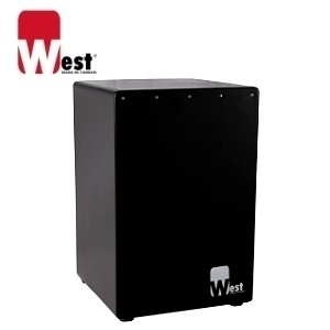 West 威斯特 W-B1(Black)限量黑 木箱鼓(台灣製Cajon/木鼓箱初學/教學/老師適用/台灣製造)限量黑