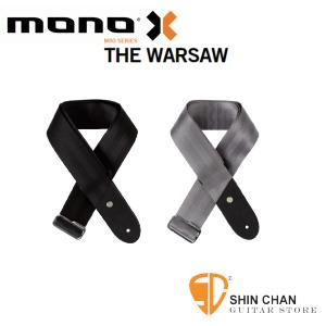 mono背帶►美國MONO THE Warsaw 吉他背帶/貝斯背帶 簡約設計奢華用料(採用汽車安全帶材質)GS1-WAR