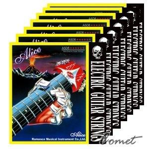 Alice 電吉他第1弦(1套10條)【Alice進口弦專賣店/電吉他弦】