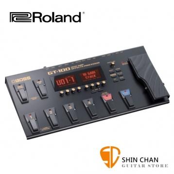 BOSS GT-100 電吉他音箱模擬綜合效果器【GT100/贈原廠變壓器】另贈獨家好禮