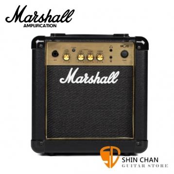 Marshall MG10 Gold 電吉他音箱 經典金色面板(10瓦/10w) MG10G / MG-10G/電吉他音箱專賣店