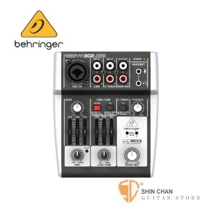 德國Behringer XENYX 302USB 5軌數位效果混音器