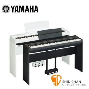 【預購】YAMAHA P125 電鋼琴 / 數位鋼琴 88鍵 含琴架/琴椅/譜板/三音踏板/變壓器 台灣山葉原廠公司貨( P115 後續機種 P-125