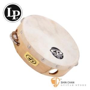 "打擊樂器 ► Lp 品牌 CP376 6吋單排鈴鼓【CP-376/LP CP 6"" Wood Headed Tambourine with Single Row Jingles】"