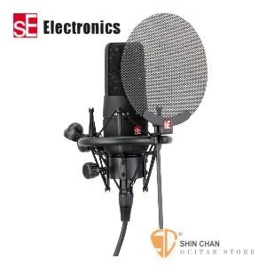 麥克風 ► sE Electronics 英國SE-X1 電容式錄音室麥克風組(SEX1) 內附 噴麥罩/防震架/麥克風線