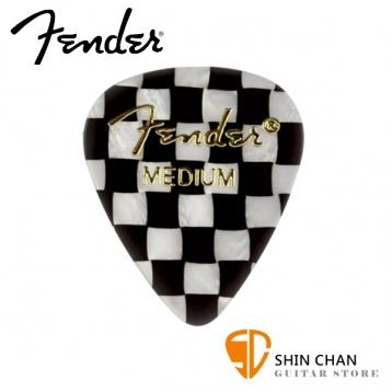 Fender 351 CHECKER 彈片 PICK【一組12片/尺寸:Medium 厚度: 0.7mm / 美製】