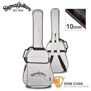 Sigma吉他袋/原廠公司貨(10mm厚內裡/ 可雙肩揹/可提/防潑水民謠吉他袋)適Sigma吉他41吋內皆可放