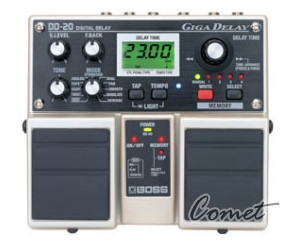BOSS DD-20 Giga Delay 雙踏板效果器/另贈原廠變壓器/DD20