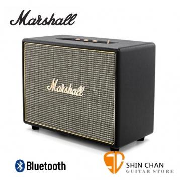 Marshall Woburn 藍牙喇叭/復古經典音箱(黑色/公司貨)藍芽喇叭 送獨家英國倫敦吉他Pick組