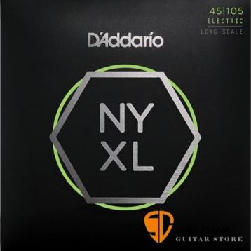 D'Addario NYXL45105 電貝斯弦 Long Scale (45-105)【DAddario/進口弦/NYXL-45105】貝斯弦