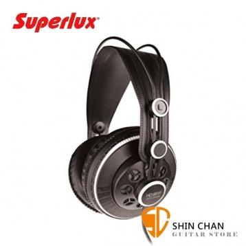 Superlux HD681F 半開放式專業監聽耳機 動圈式 HD-681F 頭戴式/耳罩式 附原廠袋、轉接頭