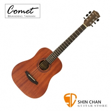Comet C165-E 36吋可插電民謠吉他/旅行吉他/Baby吉他 內建調音器 附贈Pickx2、移調夾、背帶、吉他袋、導線【進階首選/電木吉他/完美音色】