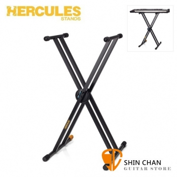 海克力斯 Hercules KS120B 雙X型 鍵盤架 / keyboard架 / 電子琴 電鋼琴 架 台灣公司貨