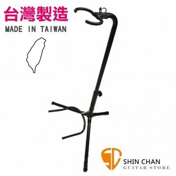 台灣製高級吉他架(木吉他民謠吉他/電吉他/貝斯/古典吉他用)附鑰匙可鎖,台製造吉他架