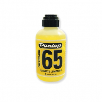 吉他保養 Dunlop 6554 指板保養檸檬油 (118ml) ULTIMATE LE (黃罐)
