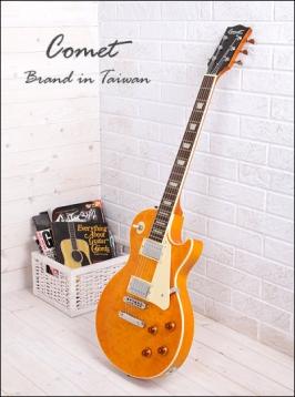 Comet 慧星LesPaul M200 鳥眼楓木電吉他【Comet電吉他專賣店/M-200】