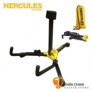 海克力斯 Hercules GS401B 吉他架 / 折疊可攜式 木吉他 民謠吉他 / 古典吉他 原聲吉他架 附袋 Hercules Stand 台灣公司貨