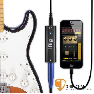 iRig HD 錄音室等級 Studio-Quality 吉他/貝斯 錄音界面(效果器)iphone/ipad系統皆可用