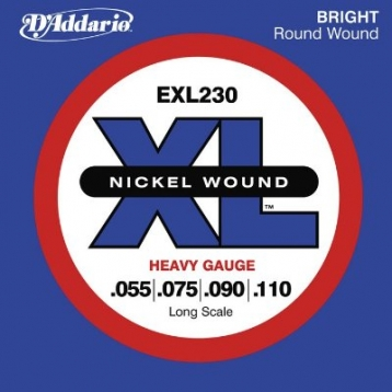美國D'Addario EXL230 貝斯弦(55~110)【DAddario/進口貝斯弦/EXL-230】