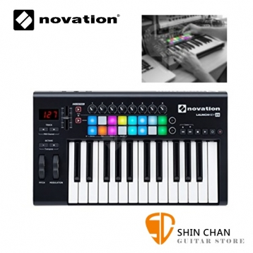 Midi鍵盤▻ Novation Launchkey 25 MKⅡ 控制鍵盤/25鍵/midi鍵盤/mk2